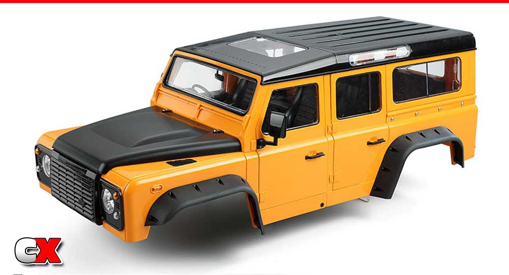 Xtra Speed Land Rover Defender D110 Hard Body Set | CompetitionX