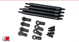Yeah Racing Upper Aluminum Link Set - Tamiya CC02 | CompetitionX