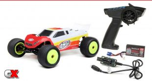 Losi Mini-T 2.0 2WD Brushless Stadium Truck RTR   CompetitionX
