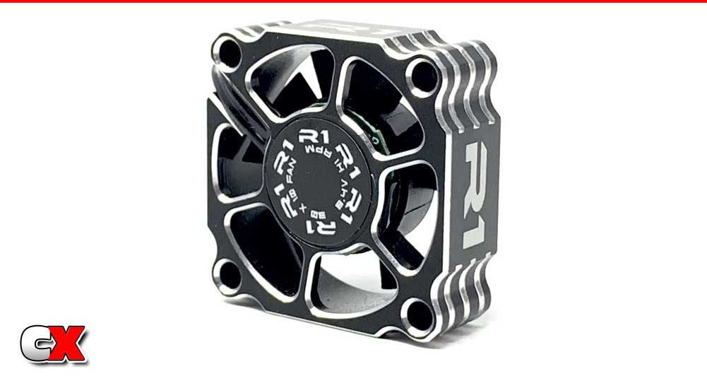 R1 Wurks 8.4V Aluminum 30mm Low Profile Cooling Fan   CompetitionX