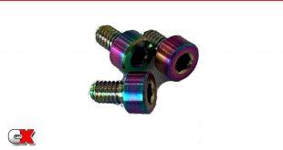 RC Speed Secret Titanium Motor Screws - Trinity X-Factor Motor   CompetitionX