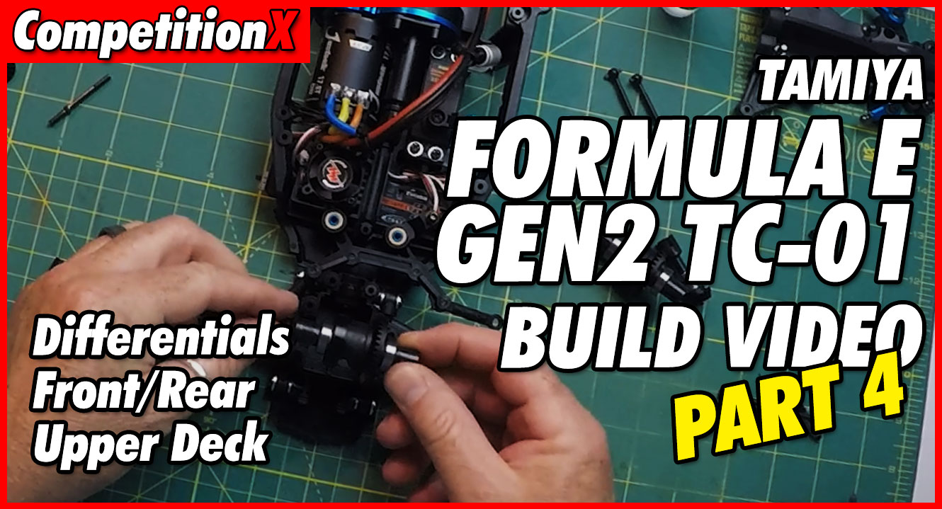 Video: Tamiya Formula E TC-01 Video Build – Part 4 | CompetitionX