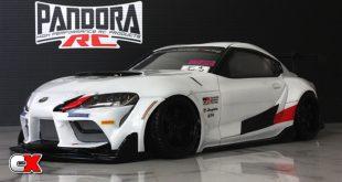Pandora RC Toyota GR Supra A90 GT4 Body   CompetitionX