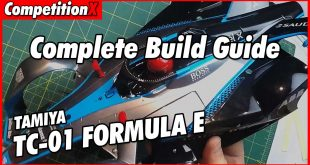 Complete Tamiya TC-01 Formula E Build Guide | CompetitionX