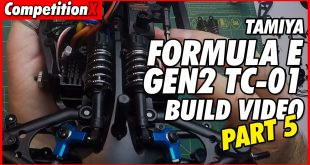 Video: Tamiya Formula E TC-01 Video Build – Part 5   CompetitionX