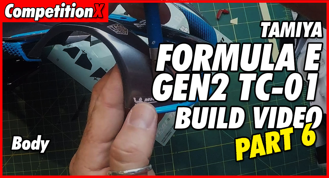 Video: Tamiya Formula E TC-01 Video Build – Part 6 | CompetitionX