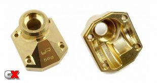 Yeah Racing Brass Portal Cover - Axial Capra | CompetitionX