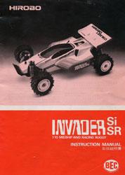 Hirobo Invader Si Manual