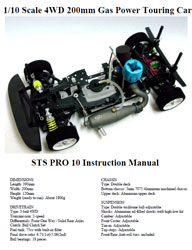 STS Racing Pro 10 Manual