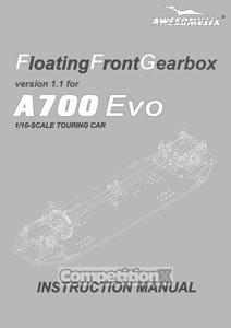 Awesomatix A700 EVO Manual