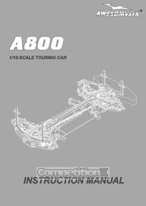 Awesomatix A800 Manual
