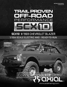 Axial SCX10 II 1969 Chevrolet Blazer RTR Manual