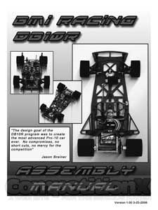 BMI Racing DB10R Manual