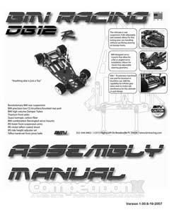 BMI Racing DB12R Manual
