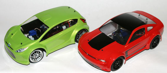 Ford Fiesta and Ford Mustang Boss 302, 1:16 Offerings from Traxxas