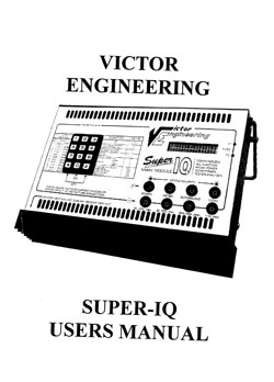 Victor Engineering Charger Manuals