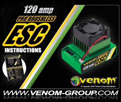 Venom ESC Manuals