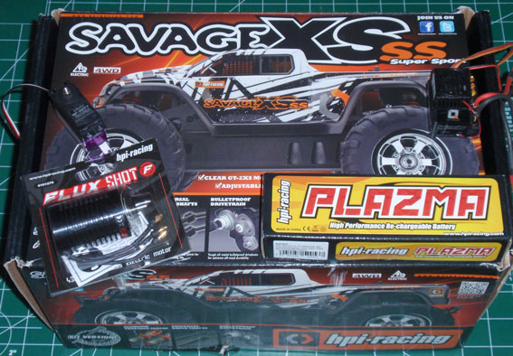 HPI Savage XS SS Build