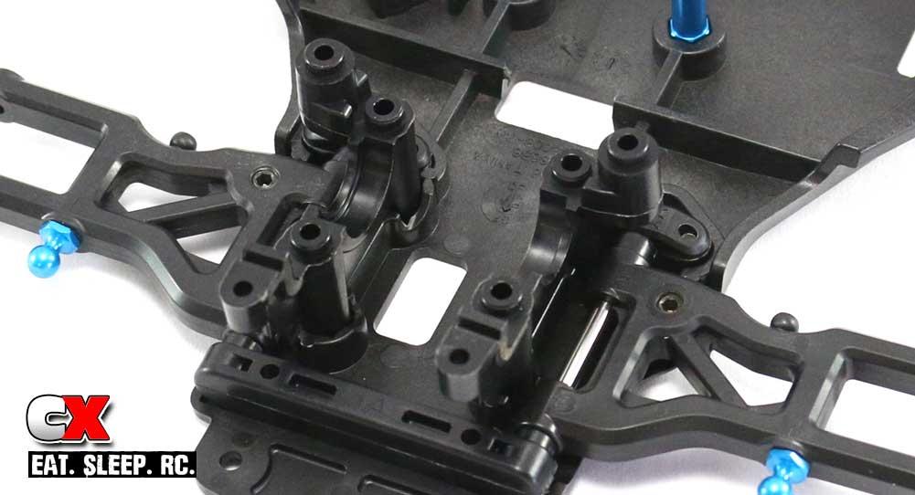 Tamiya TA07 Pro Build Part 2 - Front Suspension