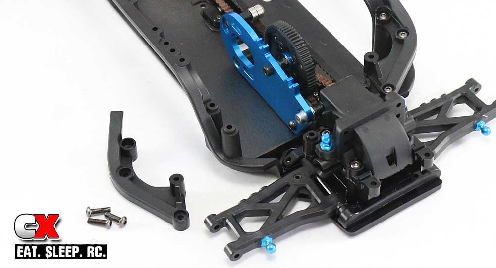 Tamiya TA07 Pro Build Part 7 - Knuckles / Rear Hubs