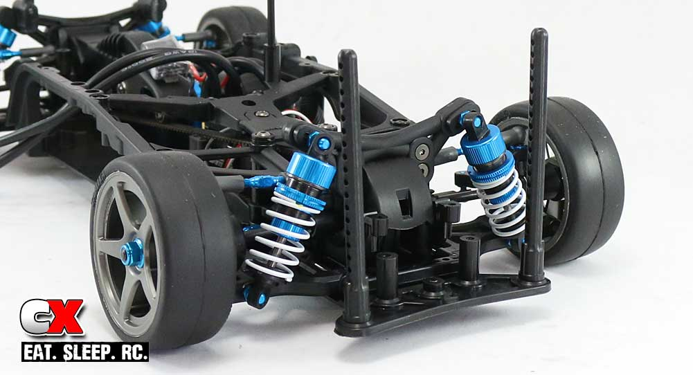 Tamiya TA07 Pro Build Part 10 - Wheels / Body Mounts / Battery Tray