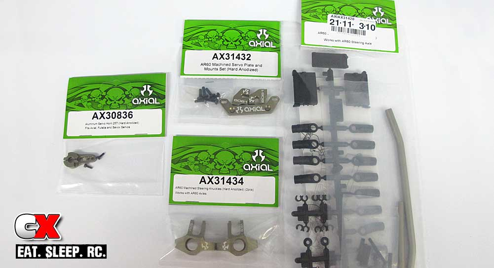 How To: Steering Upgrade on your Axial RR10 Bomber RTR