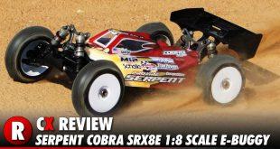 Review: Serpent Cobra SRX8E 1:8 Scale Pro Race E-Buggy
