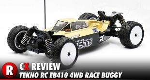 Review: Tekno RC EB410 4WD 1:10 Scale Race Buggy