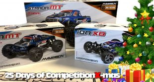 25 Days of CompetitionX-mas 2018 - Goodies from HPI/Maverick RC | CompetitionX