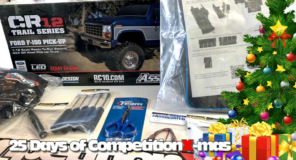 25 Days of CompetitionX-mas 2018 - Team Associated Treats! | CompetitionX