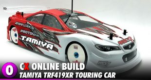 Tamiya TRF419XR Touring Car Chassis Build   CompetitionX