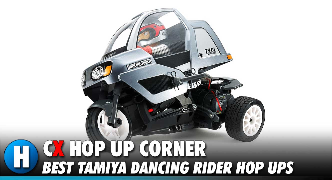 Hop Up Corner: Tamiya Dancing Rider
