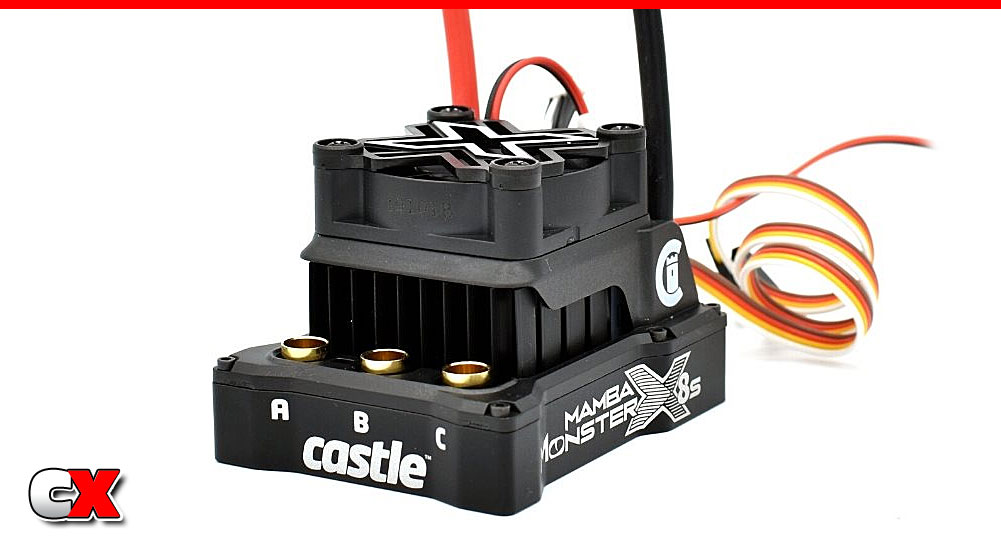 Castle Creations Mamba Monster X 8S ESC | CompetitionX