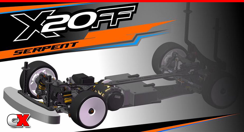 Serpent X20FF FWD Touring Car   CompetitionX