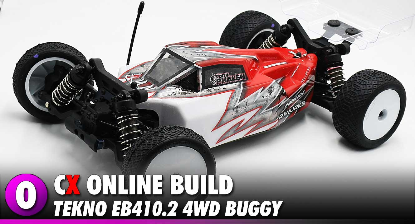 Tekno RC EB410.2 4WD Buggy Build   CompetitionX