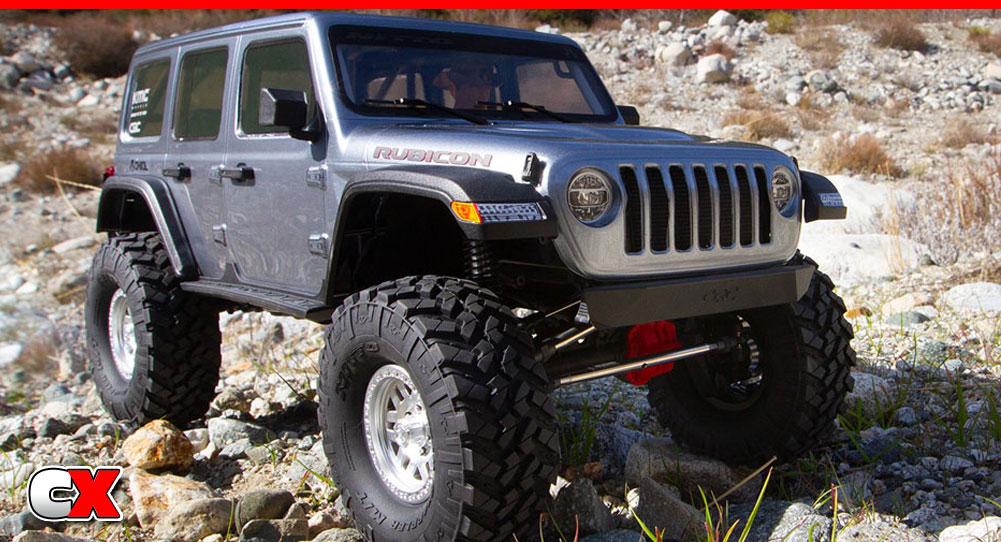 Axial SCX10 III Jeep JLU Wrangler | CompetitionX