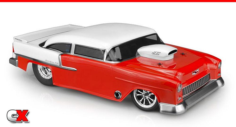 JConcepts 1955 Chevy Bel Air Drag Eliminator Body   CompetitionX