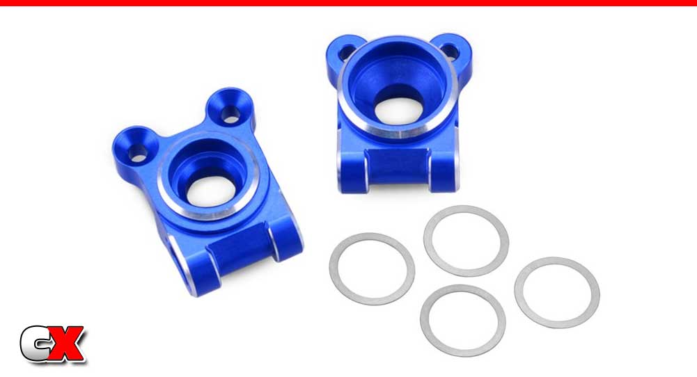 JConcepts Aluminum Rear Hub Carriers - Team Associated B74 | CompetitionX