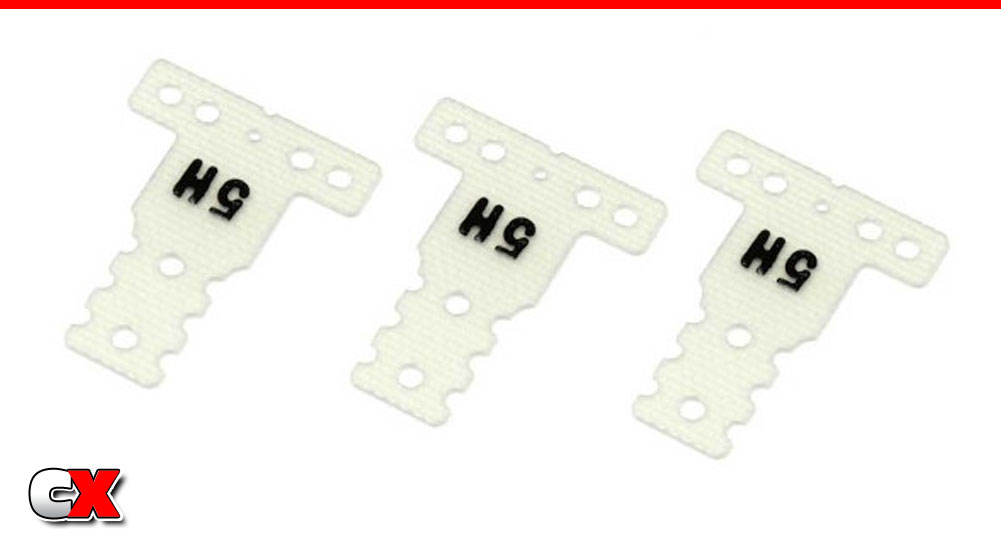 Kyosho MR03-Series Hard-Type Rear Suspension Plates | CompetitionX