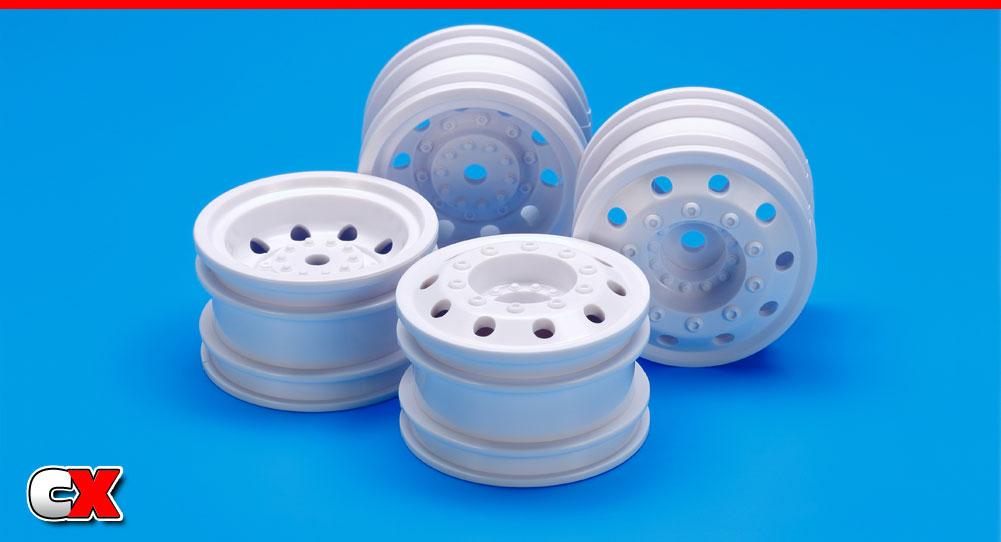 Tamiya White Euro Truck Wheels | CompetitionX
