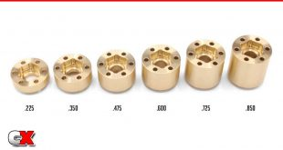 Vanquish Products Brass SLW 350 Wheel Hubs   CompetitionX