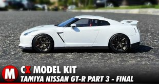 Video: Tamiya Nissan GT-R Model Kit Build Part 3 - Interior/Final Assembly | CompetitionX