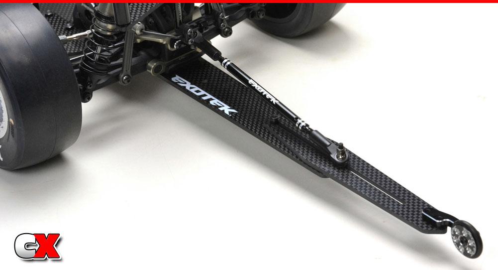 Exotek Adjustable Wheelie Bar Set - Losi 22 | CompetitionX