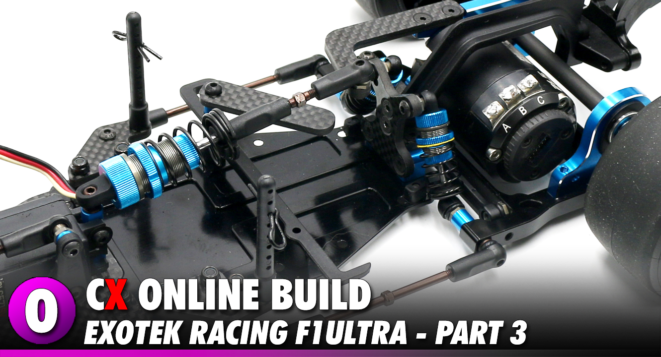 Video: Exotek Racing F1ULTRA Video Build - Part 3 | CompetitionX