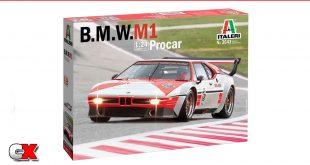 New Italeri Kits - BMW M1 Procar, IVECO Hi-Way 480 E5 Low Roof   CompetitionX