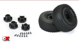 Pro-Line Gladiator SC 2.2/3.0 M3 Offroad Pre-Mounted Tires   CompetitionX