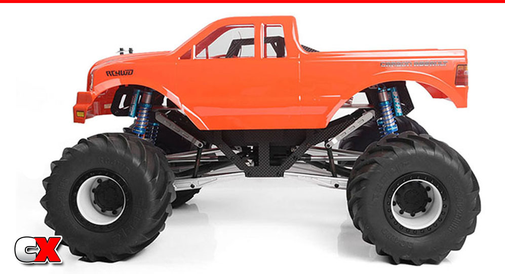 RC4WD Carbon Assault 1/10 Monster Truck   CompetitionX