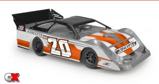JConcepts L8D Decked Lightweight Late Model Body   CompetitionX