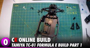 Video: Tamiya Formula E TC-01 Video Build – Part 1 | CompetitionX