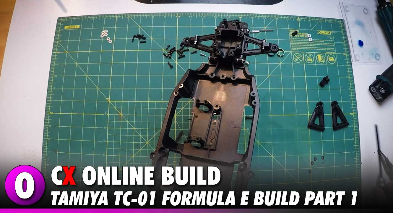 Video: Tamiya Formula E TC-01 Video Build – Part 1 | CompetitionX